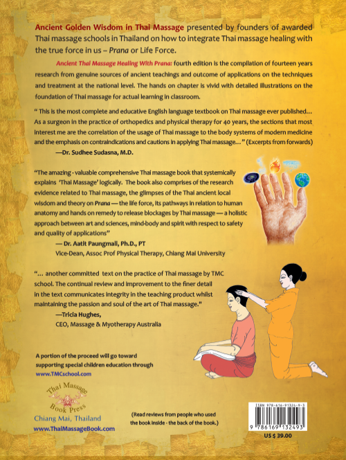 Ancient Thai Massage Healing With Prana: Fourth Edition
